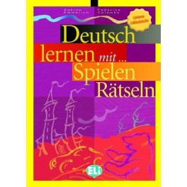Deutsch lernen mit spielen und Rätseln Untere Mittelstuffe