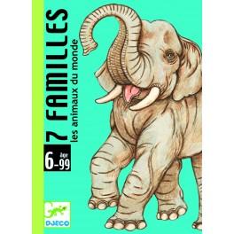 Jeux de cartes - 7 familles animaux