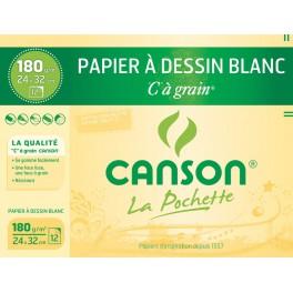 CANSON 180g 24x32cm 12F