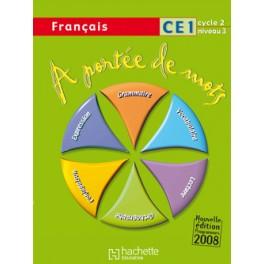 À portée de mots CE1 livre de l'élève - 2009