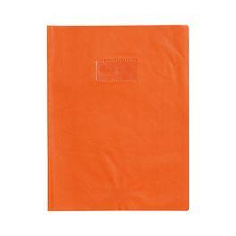 Orange 21*29,7 Protège-cahier Grain Cuir 20/100ème