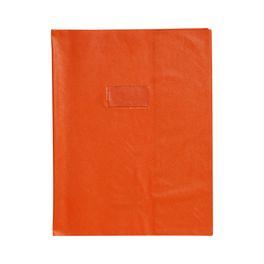 Orange 24*32 Protège-cahier Grain Cuir 20/100ème